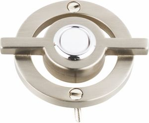 Atlas Homewares - DB643-BRN Avalon Door Bell Brushed Nickel