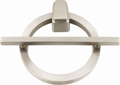 Atlas Homewares - DK643-BRN Avalon Door Knocker Brushed Nickel