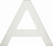 Atlas Homewares - PGNA-SS<br>Paragon Letter A<br>Stainless Steel