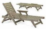 Breezesta Chaise Lounges - Picnic Tables - Chaise Lounge Chair - CL-1200