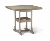"""Breezesta Counter Height - 42"""" x 42"""" Counter Table (With Umb. Hole) - CH-0813"""