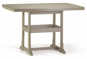 """Breezesta Counter Height - 42"""" x 60"""" Counter Table - CH-0815"""