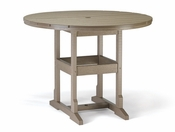 """Breezesta Counter Height - 48"""" Round Counter Table - CH-0809"""
