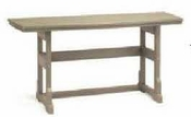 """Breezesta Dining Height - 21"""" x 60"""" Dining Height Terrace Table - DH-0717"""