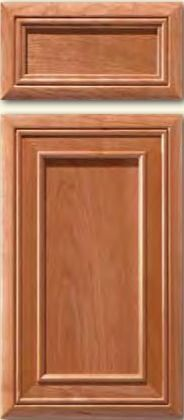 Soft Maple Mitered Cabinet Door - Recessed Panel - Series DP-88 Unfinished