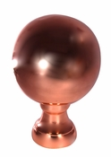 Dalvento Roof Finials - Large Londoner - Copper Polished - 105CL