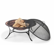 "Good Directions - 30"" Medium Fire Pit with Spark Screen - FP-2"