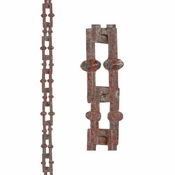 Good Directions - Bamboo Rustic Aluminum 8.5 ft. Rain Chain - 499P-8