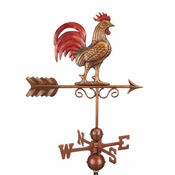Good Directions - Bantam Red Rooster Weathervane - 1975RED