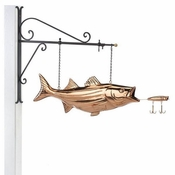 Good Directions-Bass Copper Hanging Wall Sculpture-9602PH
