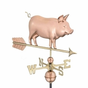 Good Directions - Country Pig Weathervane - 9550P