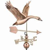 Good Directions - Feathered Goose with Arrow Weathervane - 9663PA