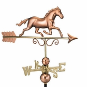 Good Directions - Galloping Horse Weathervane - 1974P