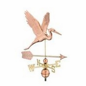 Good Directions - Graceful Blue Heron with Arrow Weathervane - 1971PA