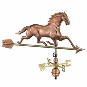 Good Directions - Horse Weathervane with Arrow - 580PA