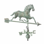 Good Directions - Horse Weathervane with Arrow - 580V1A