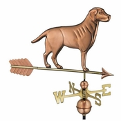Good Directions - Labrador Retriever Weathervane with Arrow - 560PA