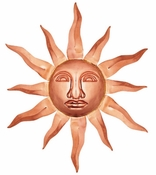 Good Directions - Large Sunface - Polished Copper - 762P