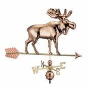 Good Directions - Moose Weathervane with Arrow - 9557PA