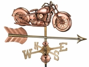 Good Directions - Motorcycle with Arrow Garden Weathervane - 8846PAG