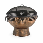 Good Directions - Oversized Eagle Fire Bowl with Spark Screen - FB-5