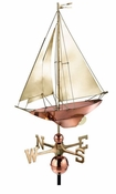 Good Directions-Racing Sloop Weathervane-909B