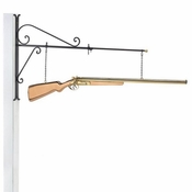Good Directions-Shotgun Copper Hanging Wall Sculpture-693PH