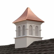 Good Directions - Smithsonian Columbia Vinyl Cupola with Copper Roof - PS26DL