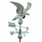 Good Directions - Smithsonian Eagle Weathervane - Blue Verde Copper - 955V1