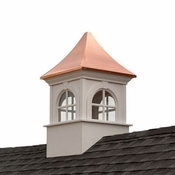 Good Directions - Smithsonian Fairfax Vinyl Cupola with Copper Roof - PS26SW