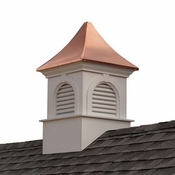 Good Directions - Smithsonian Newington Vinyl Cupola with Copper Roof - PS42SL