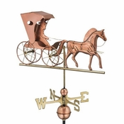 Good Directions - Standard Weathervane - Country Doctor - Polished Copper - 548P