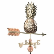 Good Directions - Standard Weathervane - Pineapple - Polished Copper - 9635P