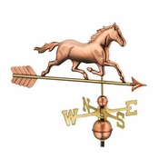 Good Directions - Trotting Horse Weathervane - 967P