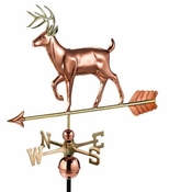 Good Directions - White Tail Buck Weathervane - 968P