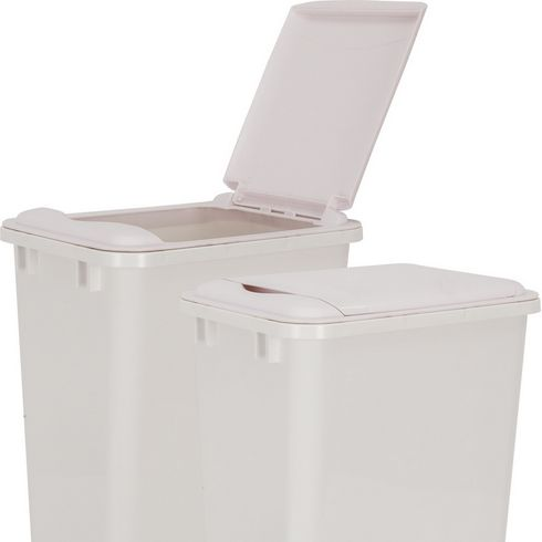 Hardware Resources - Lid for 50 Quart Plastic Waste Container, White. - CAN-50LIDW