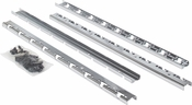 Hardware Resources - STORAGE WITH STYLE (TM) Polished Chrome Pilaster Kit for SWS-WB - Polished Chrome - SWS-PILKITPC