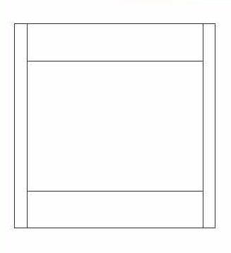KCD Shaker White Oven Cabinet Overlay Panel - SW-OP3353