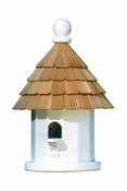 Lazy Hill Farm Back Porch Wren Bird House with Shingled Roof - 41434