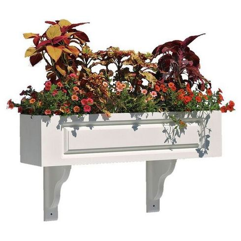 "Lazy Hill Farm Hampton Window Box Kit - 72"" - 999155"