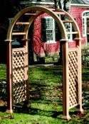 "Nantucket Arbor - 96"" Wide - NAA8C"
