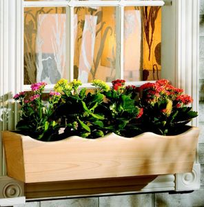 "Nantucket Window Box - 36"" Wide - NWB3"