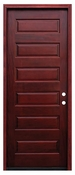 Pacific Entries  -  Contemporary Series Door  -  6 Panel - M55-8
