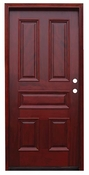 Pacific Entries  -  Traditional Series Door  -  5 Raised Panels  - M65