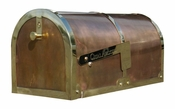 Qualarc - Provincial Collection Brass Mailbox - MB-3000-POL