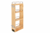 "Rev-A-Shelf - 448-BBSCWC-5C - 5"" Wood Pull Out Wall Organizer w/ Soft Close"