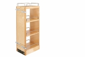 "Rev-A-Shelf - 448-BBSCWC-8C - 8"" Wood Pull Out Wall Organizer w/ Soft Close"