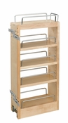 "Rev-A-Shelf - 448-HP-523C - 5"" Wood Hood Pull-Out Organizer w/ Adj. Shelves"
