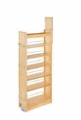 "Rev-A-Shelf - 448-TP43-8-1 - 8"" W x 43"" H Wood Pantry Pullout Soft Close"