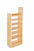 "Rev-A-Shelf - 448-TP51-11-1 - 11"" W x 51"" H Wood Pantry Pullout Soft Close"